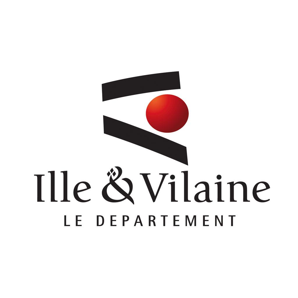 le logo de l'ille et vilaine