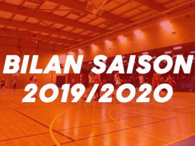 Bilan saison 2019/2020 : -15 & -18 ans