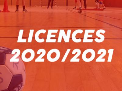 Licences 2020/2021