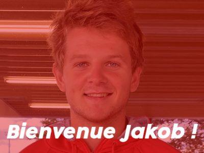Bienvenue à Jakob, nouveau membre de la #teamESR