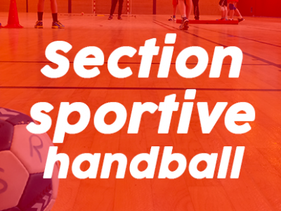 Section sportive handball au Cleu : Ouverture des inscriptions !