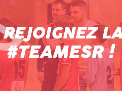 Rejoignez la #TeamESR !